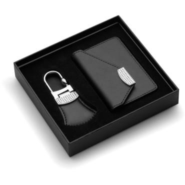 Parure porte-clés et étui porte-carte...