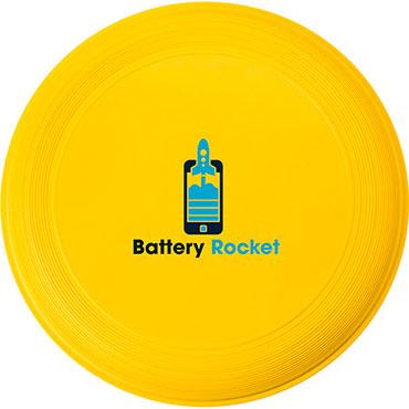 Frisbee en plastique d'un diamètre de 21 cm