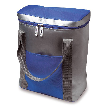 Nylon ooler bag for six bottles