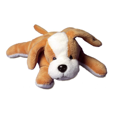 Plush toy dog