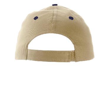 Six panel cotton twill cap