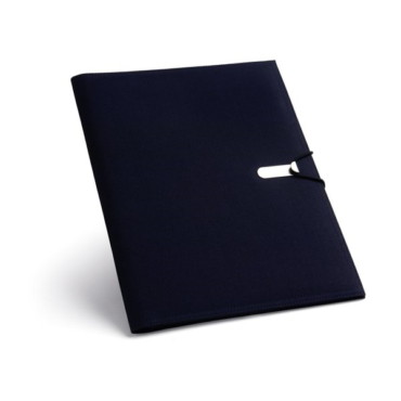 600D A4 folder with inner pockets