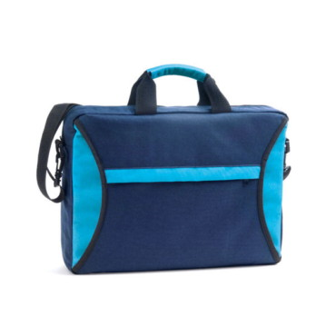 600D multifunction bag with outer front zip pocket