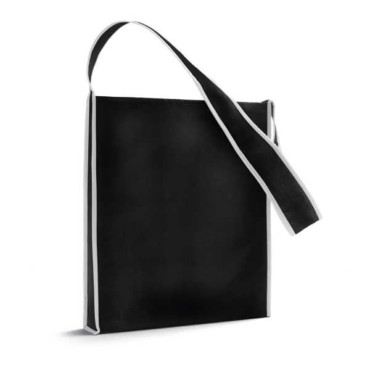 Non-woven shoulder bag with 95 cm handle