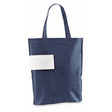 Foldable non-woven bag with 50 cm handles