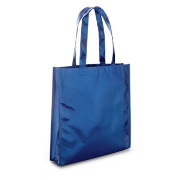Non-woven shiny laminated bag with 50 cm handles