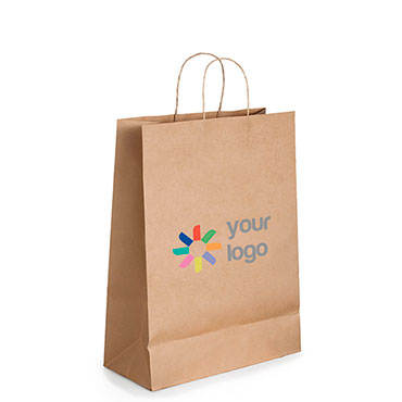 Kraftpapier-Tasche 2 M