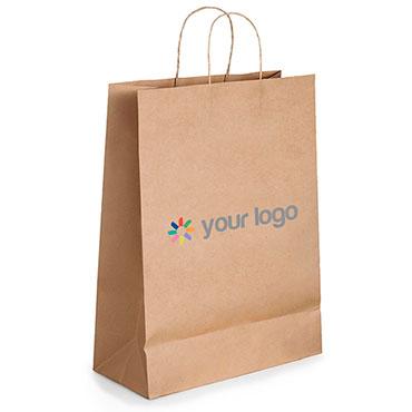 Kraftpapier-Tasche 3 L