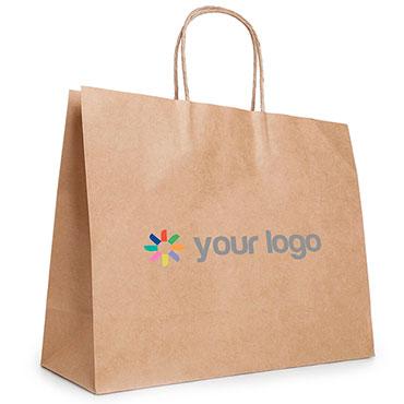 Kraftpapier-Tasche 4 XL