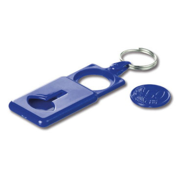 Coin holder keyring Fertan