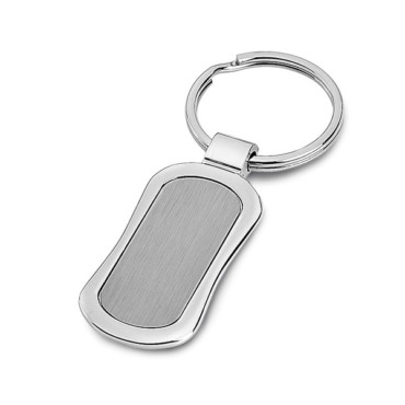Metal keyring in gift box