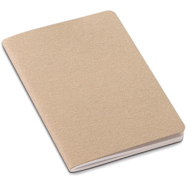 Mini notebook with recycled cardboard cover