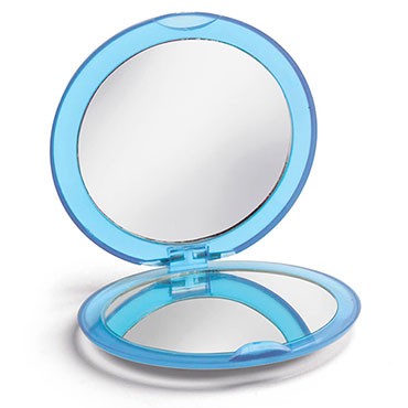 Double make-up mirror