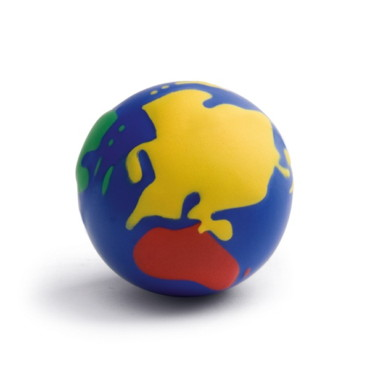 Anti-stress squeeze globe