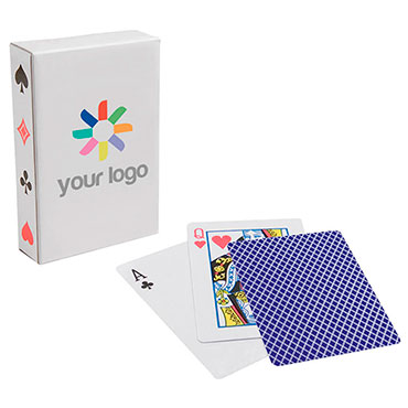 Pack of cards in paper box