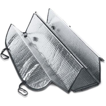 Pára-sol dobrável para vidro frontal de carro