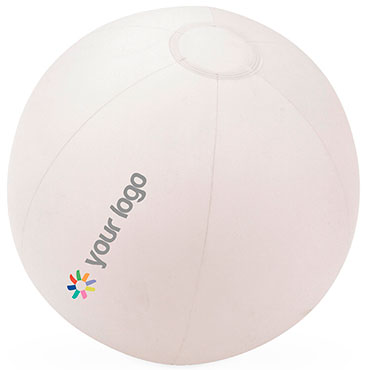 Translucent PVC frost inflatable beach ball