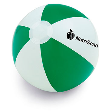 Opaque PVC inflatable beach ball