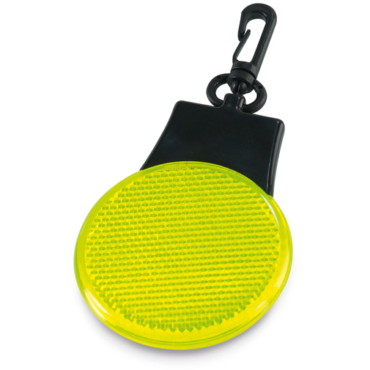 Clip-on LED reflective safety light