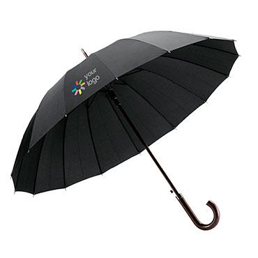 16-Stangen Regenschirm