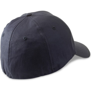 6 panel stretch fit cotton baseball cap