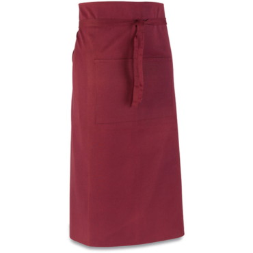TC bar apron, with two pockets