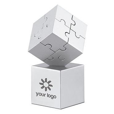 Puzzle 3D metálico e magnético Kubzle