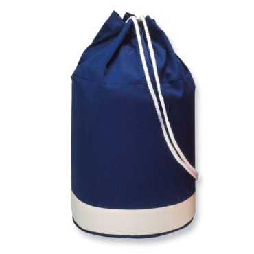 Yatch cotton duffle bag bicolour