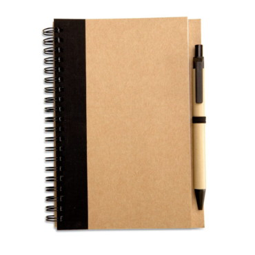 Sonora Plus Recycled paper notebook + pen