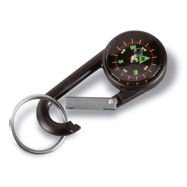 Lebone Carabiner hook with compass
