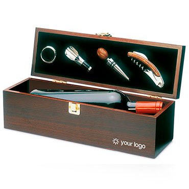 Costières Wooden gift box for wine