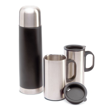 1 bouteille thermos 2 tasses Isoset