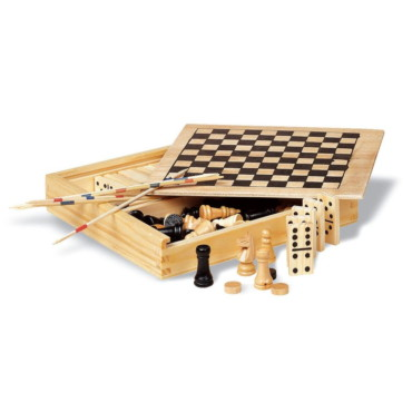 Trikes 4 games in wooden box