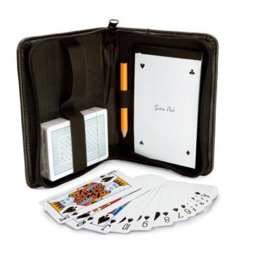 Jogo de cartas com bloco Monaco