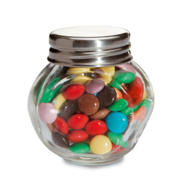 Chocolates em pote de vidro KC Chocky