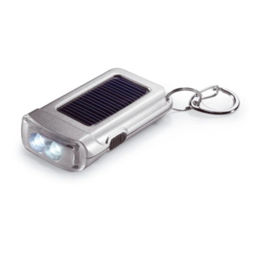 Ringal Solar powered torch keyring