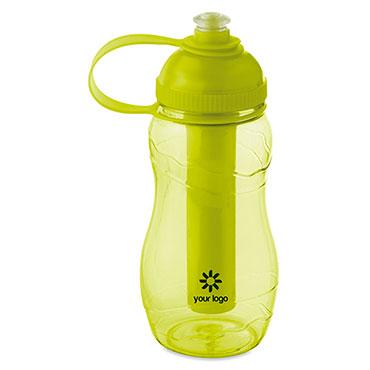Goo bottle with freezing tu