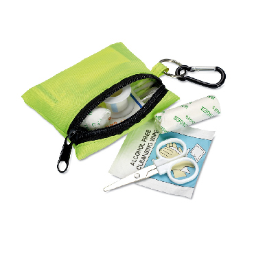 Minidoc First Aid Kit w carabiner