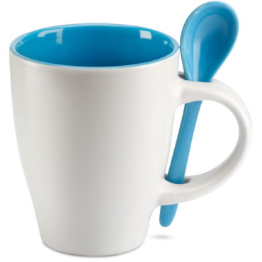 Mug avec petite cuillère Dual