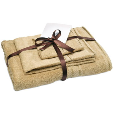 Therma 3pcs bath towel set