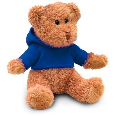 Ours en peluche avec T-shirt Johnny