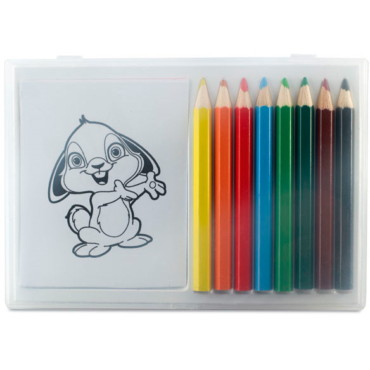 Recreation Wooden pencil colouring set