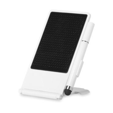 Smartphone stand w/ stylus pen