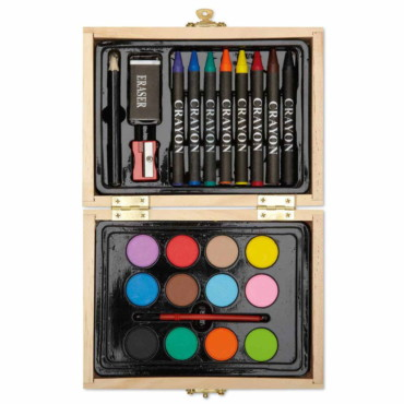 Beau Painting set in wooden box
