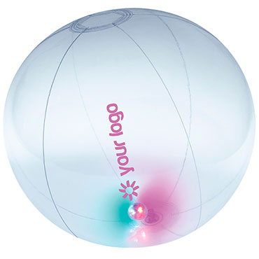 Pelota de playa con luz Lighty