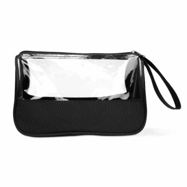 Plas Toiletry bag microfibre w PVC