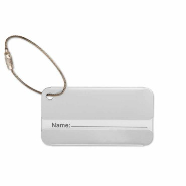 Taggy Aluminim luggage tag