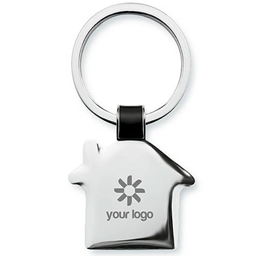 Housy House shaped key ring