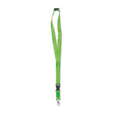Neon Lany Neon Lanyard with metal hook