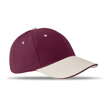 Bone de baseball com 6 paineis Sole Cap